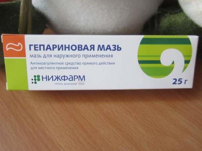 Гепариновая мазь как средство от шишек