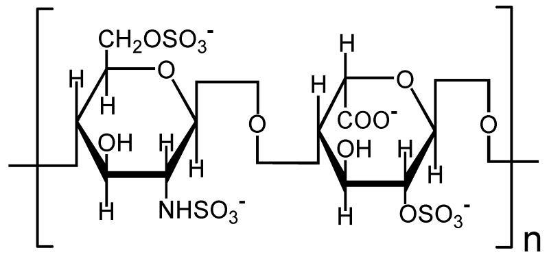 Формула гепарина