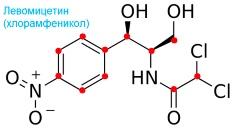 Химическая формула левомицетина