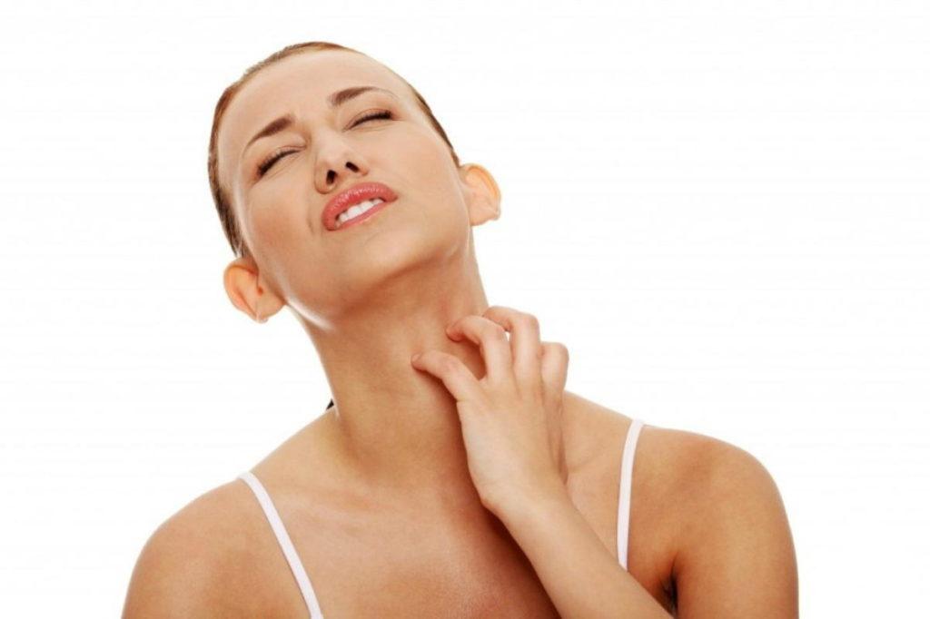 Кожный зуд и высыпания - аллергическая реакция на мазь