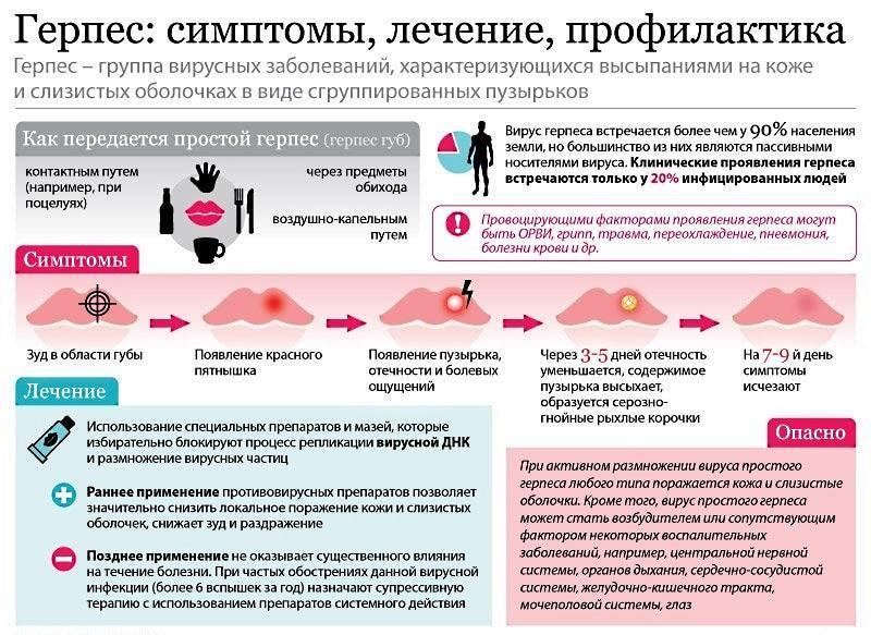 Особенности вируса герпеса, его симптомы и лечение