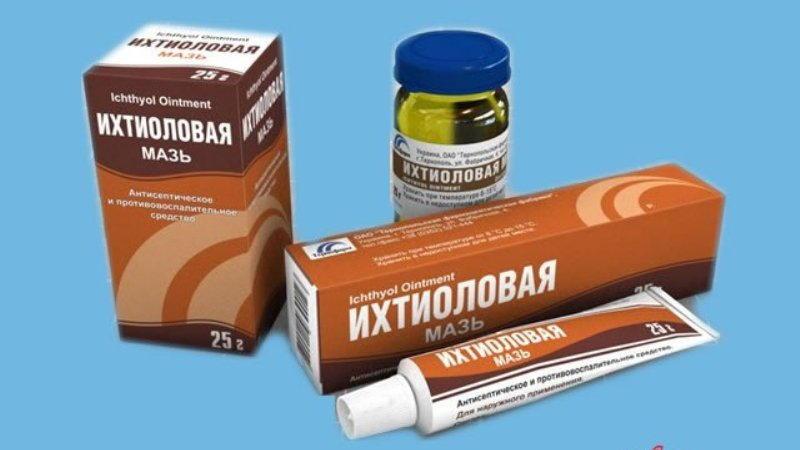 Ихтиол - противомикробное и дезинфицирующее средство