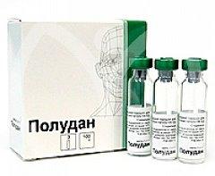Для борьбы с конъюнктивитом применяют капли Полудан