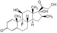 Структурная формула Бетаметазона