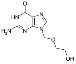 Ацикловир является главный действующим элементом мази