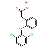 Диклофенак натрия: химическая формула