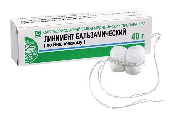 Мазь Вишневского в гинекологии: как делать тампоны с мазью ...