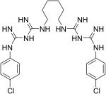 Химическая формула хлоргексадина