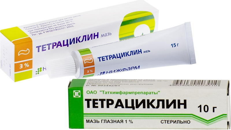 Инструкция тетрациклиновая