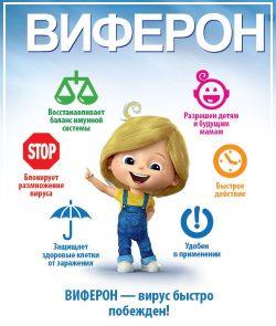 Дозировка виферона для детей