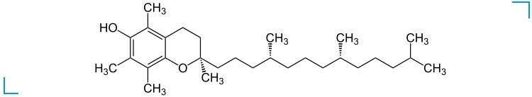 Химическая формула токоферола ацетата