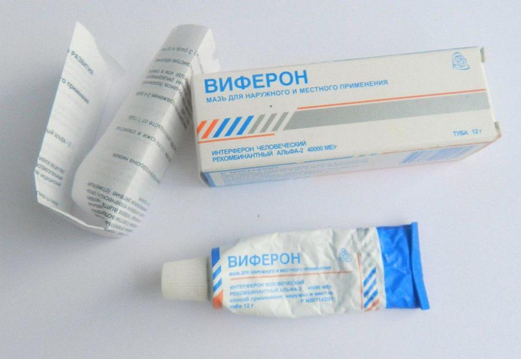 Препарат обладает противовирусными свойствами