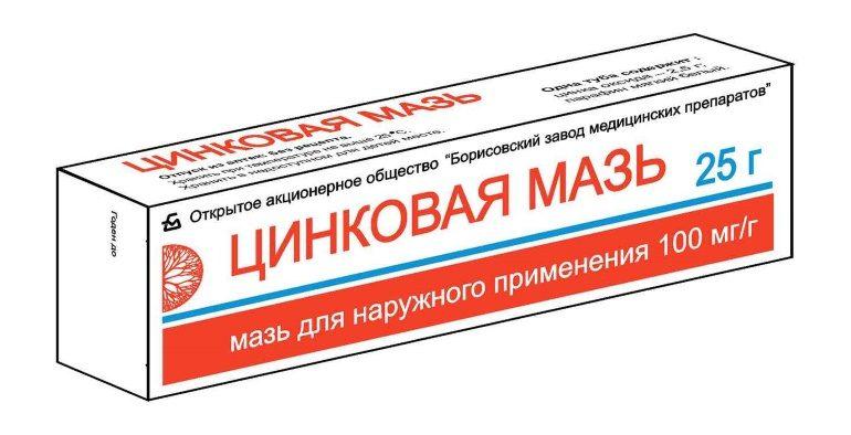 Цинковую мазь применяют для лечения экземы