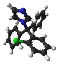 Химическая формула клотримазола