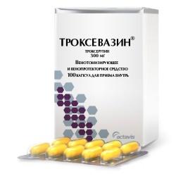 Инструкция по применению капсул троксевазин