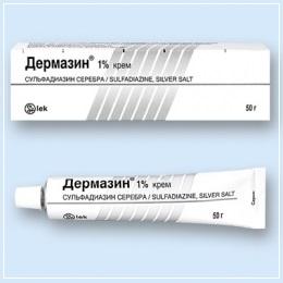 Дермазин - один из аналогов Аргосульфана