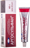 Аргосульфан не абсорбируется в основное русло кровотока