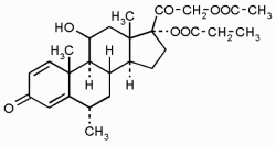 Химическая формула метилпреднизолона ацепонат
