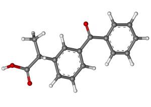 Химическая формула вещества Кетопрофен