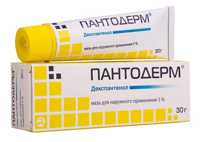 Пантодерм - структурный аналог лекарственного средства