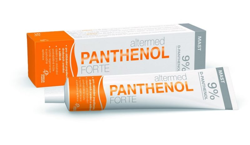 Пантенол - препарат с аналогичными свойствами