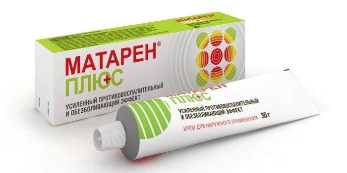 Препарат Матарен Плюс выпускается в форме таблеток и крема