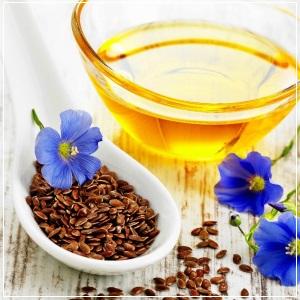 Льняное масло содержит в своем составе полинасыщенные кислоты и жиры