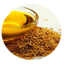 Льняное масло устраняет воспаления кожи, омолаживает ее