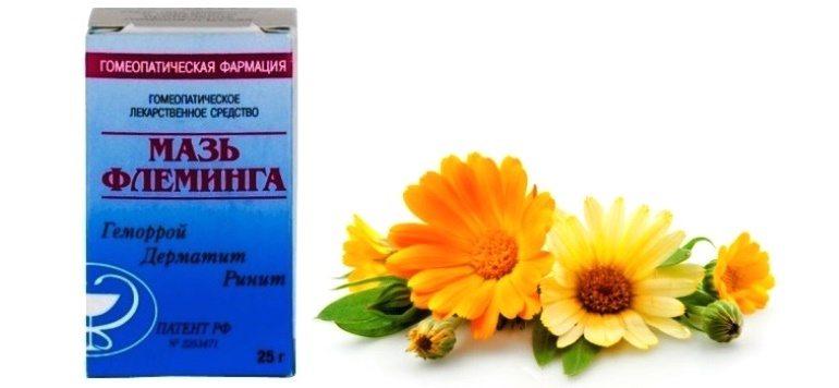 Мазь Флеминга - комплексный гомеопатический препарат