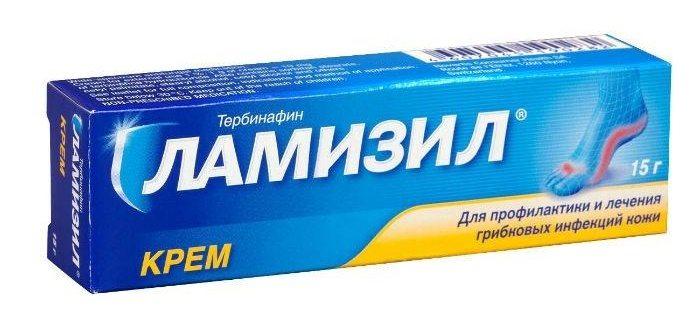 Крем Ламизил - действенное противогрибковое средство