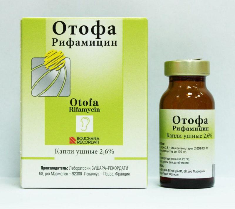 Отофа - препарат с аналогичными свойствами