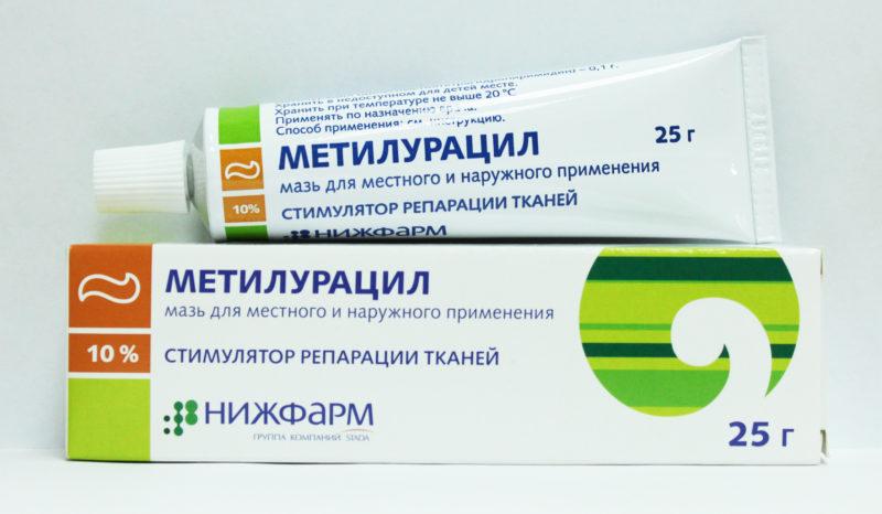 Метилурацил - аналог лекарственного средства