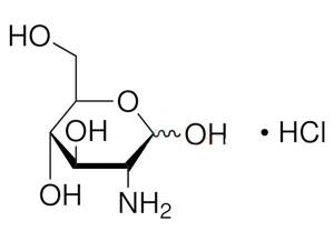 Химическая формула гидрохлорида глюкозамина