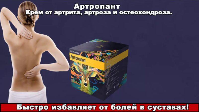 Купить Артропант крем для суставов  Официальный сайт
