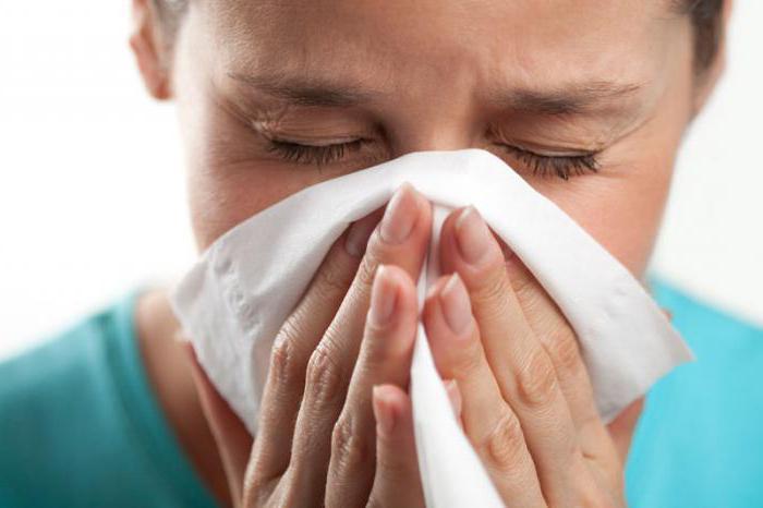 Лекарство применяют в терапии хронического насморка