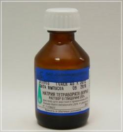 Натрия тетраборат - один из лучших заменителей Борной мази