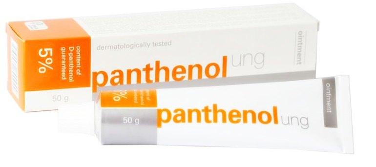 Мазь Пантенол активизирует тканевую регенерацию