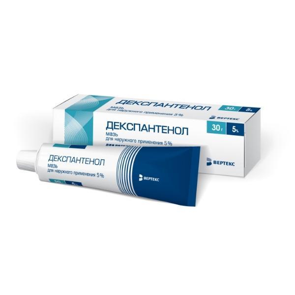 Декспантенол - аналог лекарственного средства
