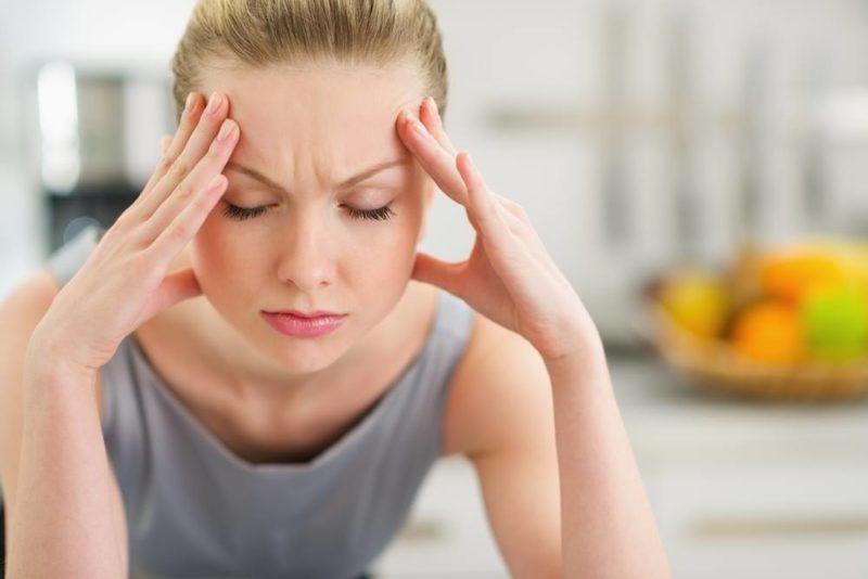 Побочный эффект препарата - головные боли