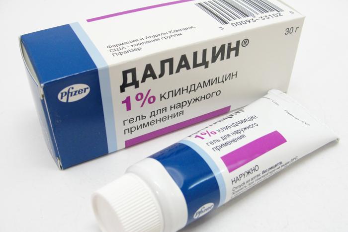 Далацин вагинальный крем