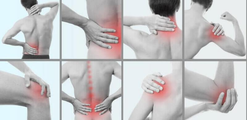 Показание к применению - заболевания суставов и позвоночника