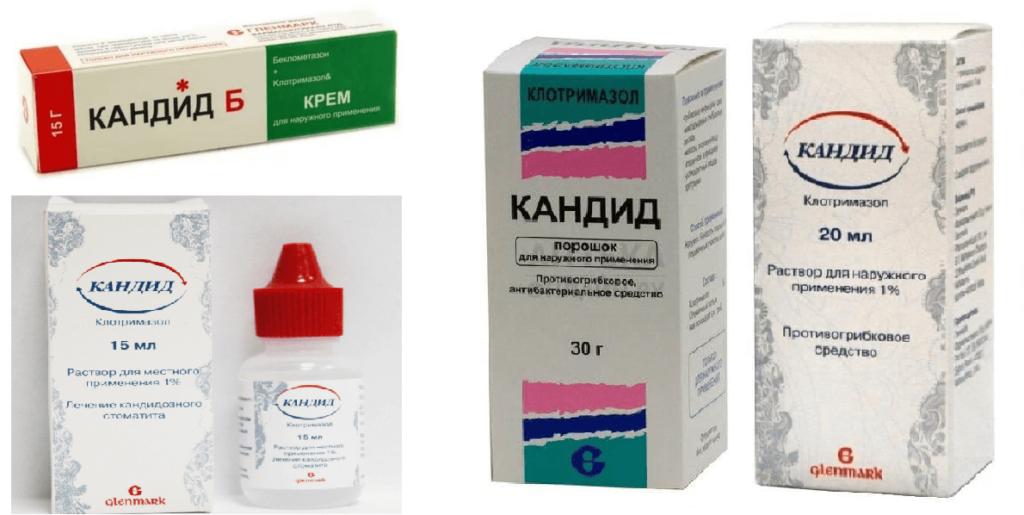 Форма выпуска - мазь, гель, раствор и таблетки