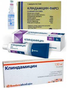 Главный компонент лекарства - антибиотик