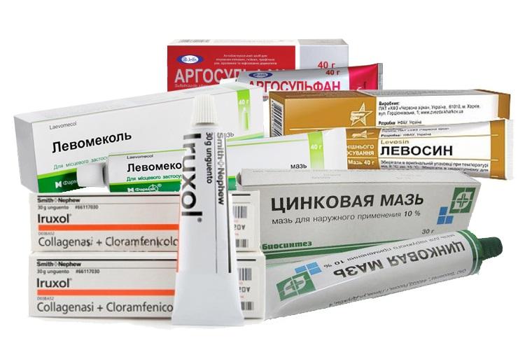 Аналог лекарственного средства - Левомеколь и Левосин