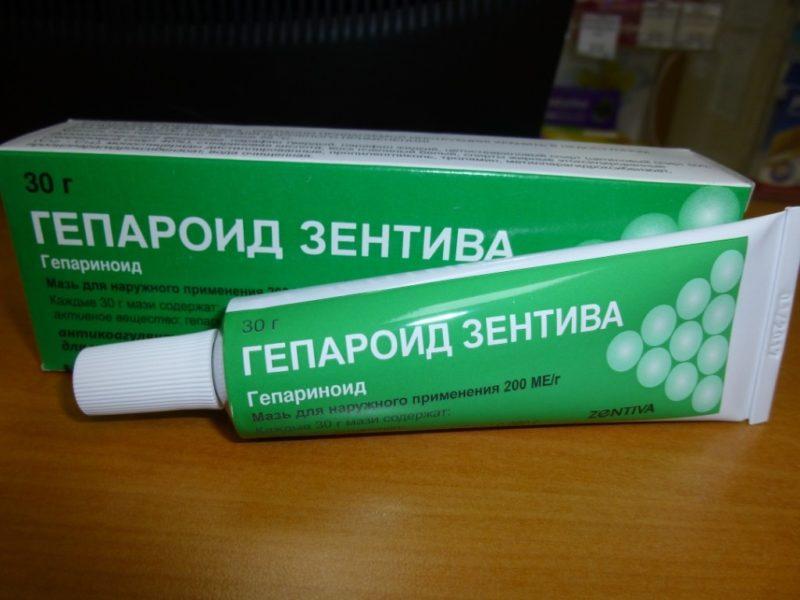 Гепароид зентива мазь для лечения вялотекущего хронического геморроя