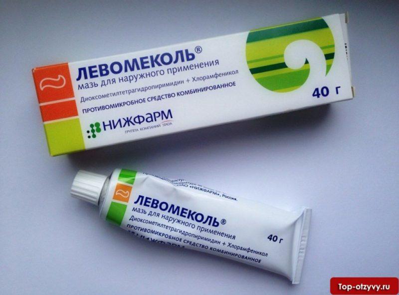 Левомеколь используется как вспомогательное средство при геморрое