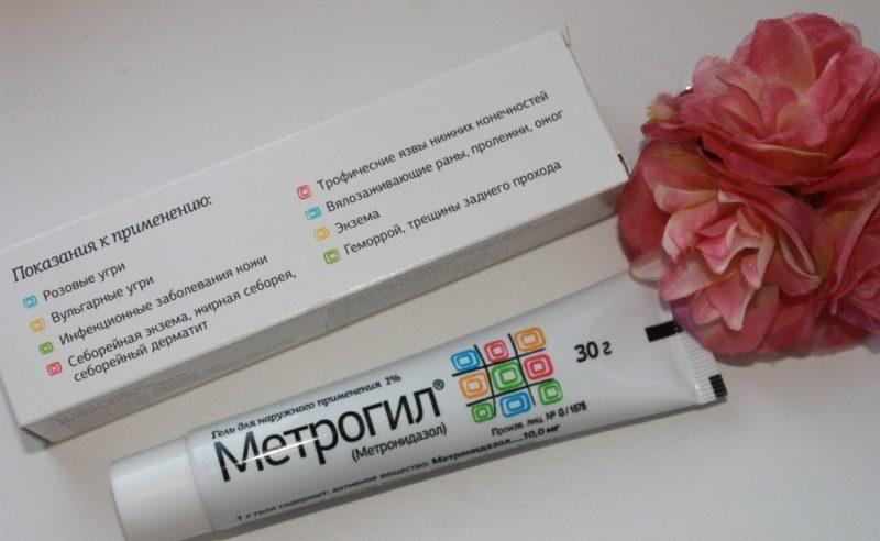 Показания к применению геля с метронидазолом