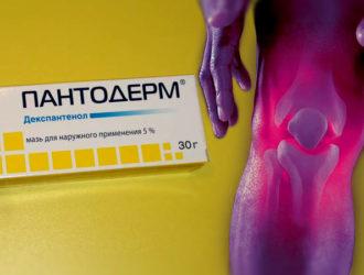Пантодерм - мазь при болях в суставах, травмах, воспалениях