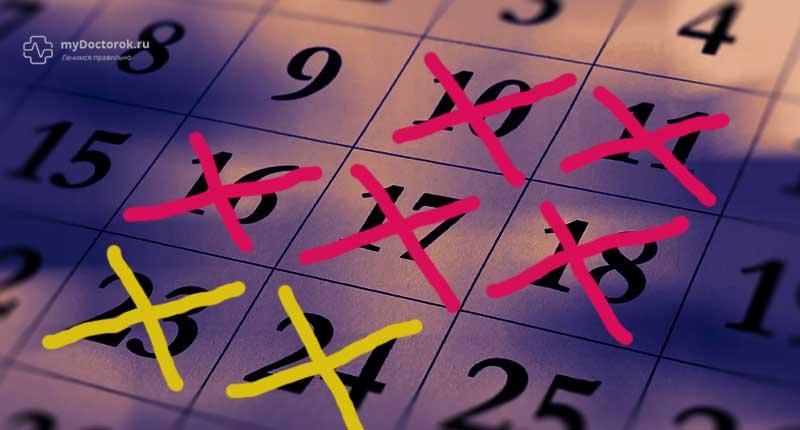 Пантестин следует принимать 5-7 дней