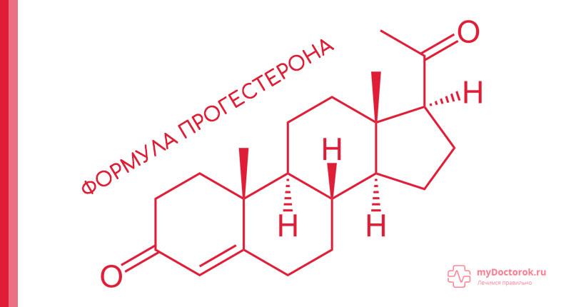 Формула действующего вещества в Прожестожеле
